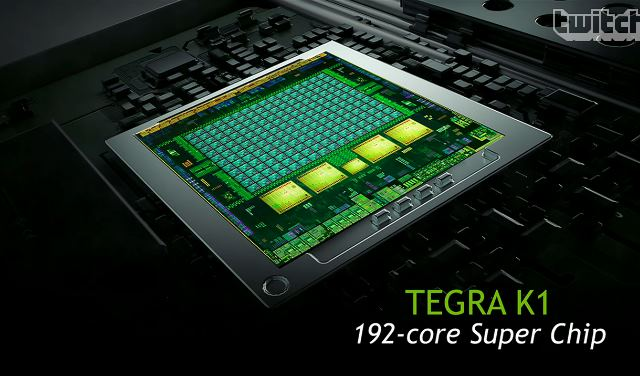 Nvidia анонсировала процессор Tegra K1 (Tegra 5) со 192 ядрами