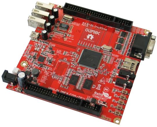 OLinuXino A13: миниатюрный open source компьютер за $60