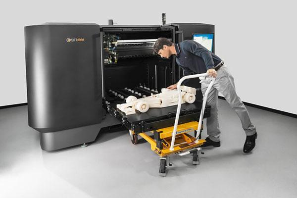 Objet1000 — 3D принтер для больших моделей с безупречной точностью