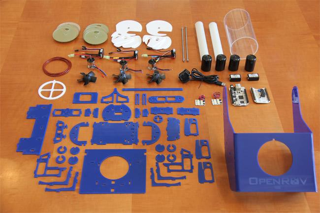 OpenROV — подводный робот (open source)