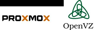 OpenVZ в Proxmox, заметки на полях