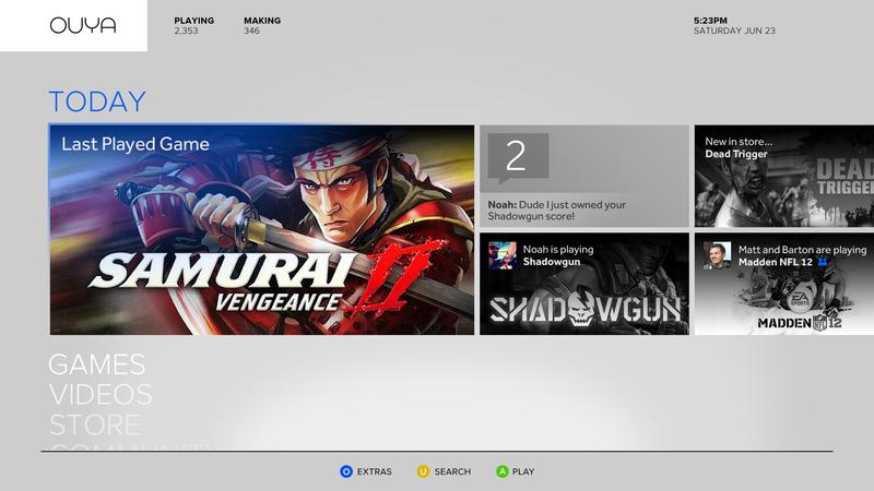 Ouya — игровая приставка на Android за $99