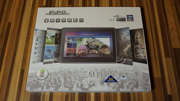 PIPO M3 — 10 дюймов и 3G модуль