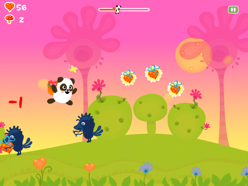 Panda Sweet Tooth или история о разработке игры Панда Сладкоежка для iPhone и iPad