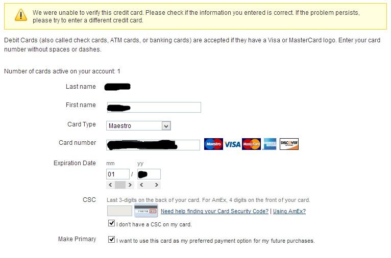 PayPal начал принимать карты Maestro