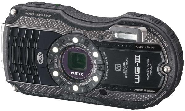 Pentax относит камеры WG-3 и WG-3 GPS к 15-му поколению камер в усиленном исполнении