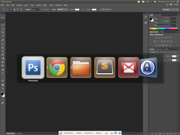 Photoshop в Ubuntu