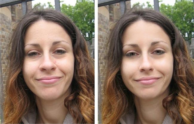 Pixtr: автоматическое ретуширование фотопортретов