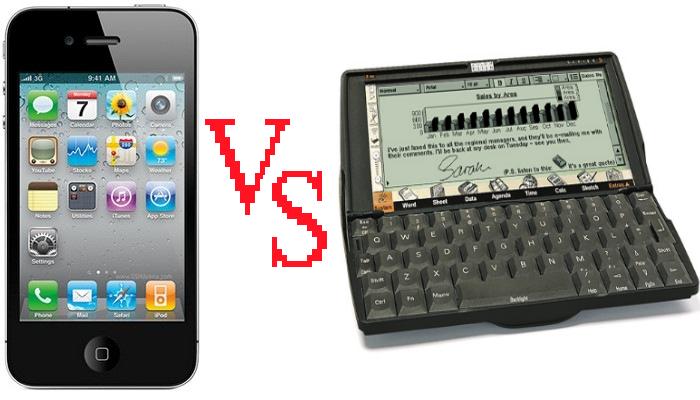 Psion 5mx vs iPhone 5 в повседневном использовании*