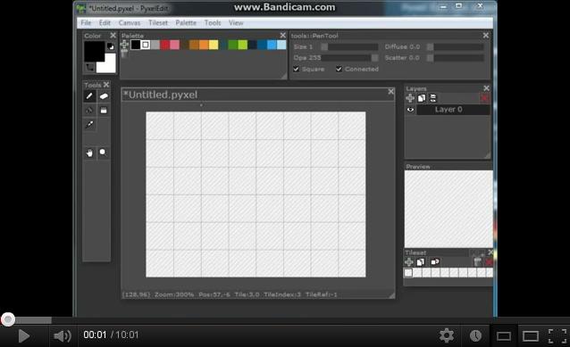 Pyxel Edit: пиксельарт тайлсет редактор