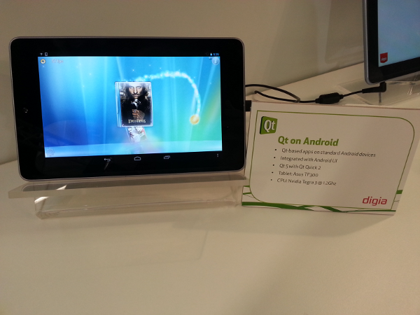 Qt 5 для Android: превью