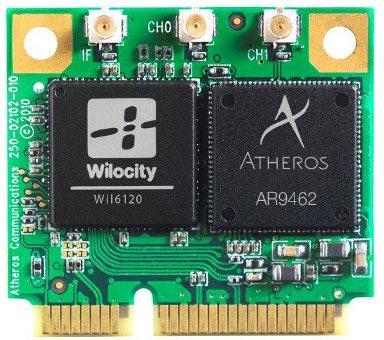 Qualcomm и Wilocity представили первый референсный образец модуля 802.11ac и 802.11ad, работающего в трех частотных диапазонах