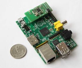 Raspberri Pi with RaZberry extention board