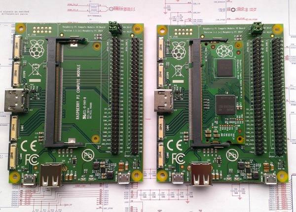 Raspberry Pi Compute Module — известный микрокомпьютер стал еще меньше, приняв форму модуля SO-DIMM