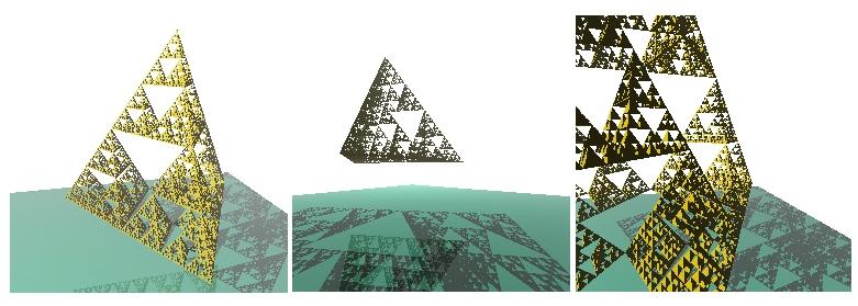Raytracing render на C