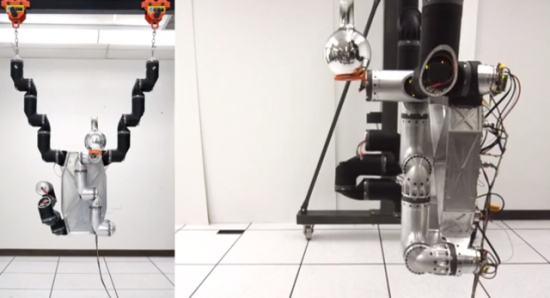 RoboSimian: робот обезьяна для работы на очагах техногенных катастроф