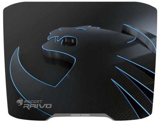 Roccat анонсирует продажи игровых ковриков Raivo