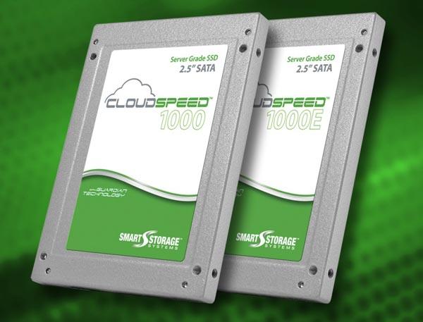 В CloudSpeed 1000 и CloudSpeed 1000E используется 19-нанометровая флэш-память MLC NAND потребительского класса