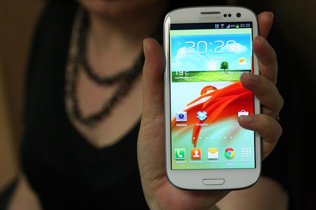 Samsung Galaxy S III — тройка на пятерку