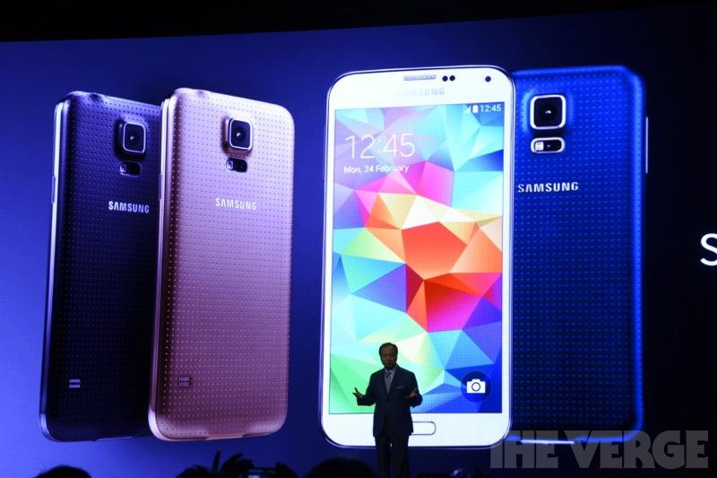 Samsung анонсировали Galaxy S5