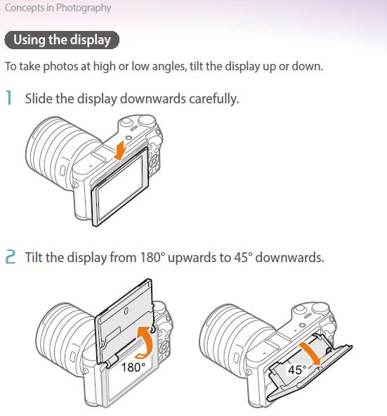 Руководство пользователя камеры Samsung NX300m доступно для загрузки