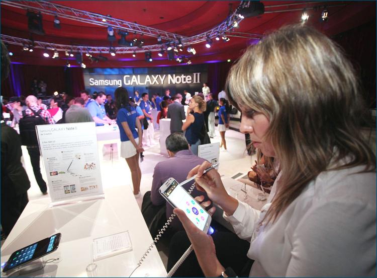 Samsung на IFA 2012