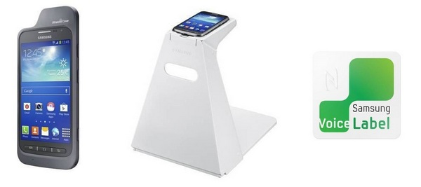 Samsung Ultrasonic Cover, Optical Scan Stand и Voice Label