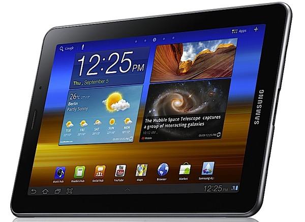 Планшеты Samsung с экранами AMOLED будут принадлежать верхнему сегменту