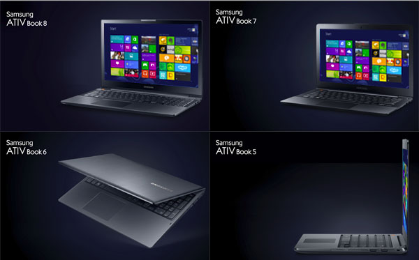Samsung назовёт свои ноутбуки Ativ Book
