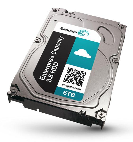 Жесткие диски Seagate Enterprise Capacity 3.5 HDD v4 предложены в двух вариантах — с интерфейсом SAS 12 Гбит/с и SATA 6 Гбит/с