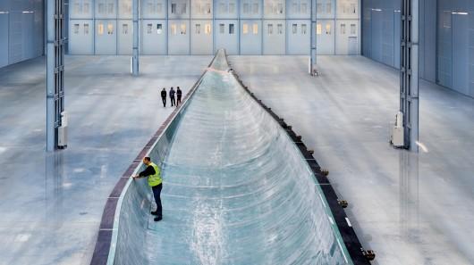 Siemens строит очень большую ветряную турбину