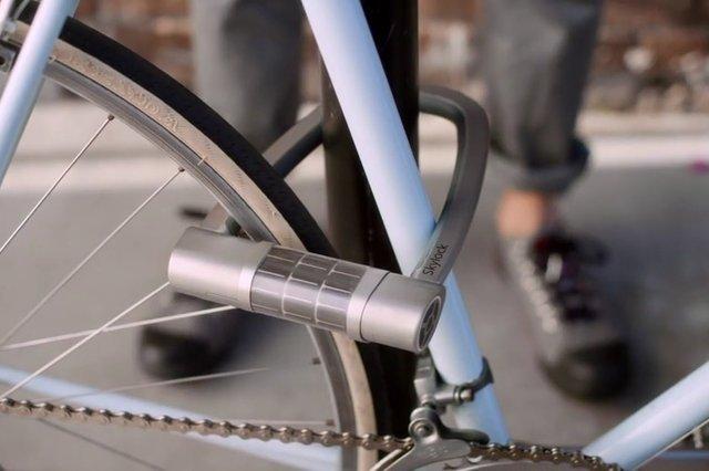 Skylock — беспроводный вело замок на солнечных батареях