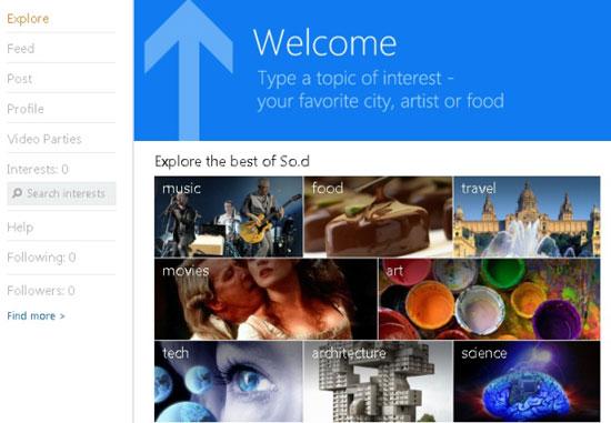 So.cl: социальная сеть от Microsoft, основанная на социальном поиске