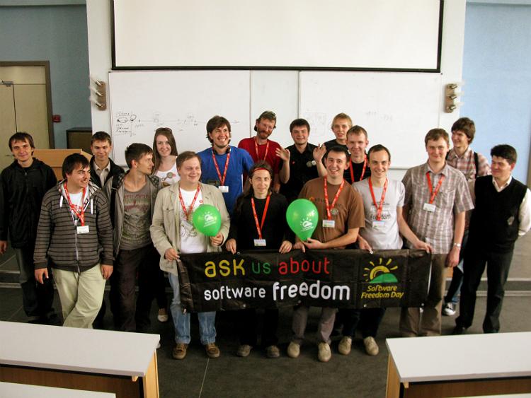 Software Freedom Day в провинции: Саратов