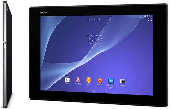 Планшет Sony Xperia Z2 Tablet поддерживает MHL 3.0