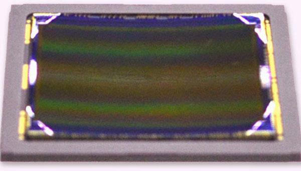 Sony показала полнокадровый вогнутый датчик изображения