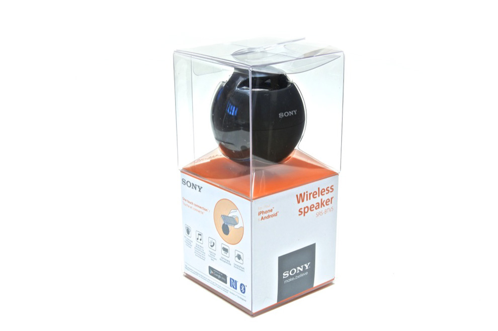 Sound Sphere – обзор акустической системы Sony SRS BTV5