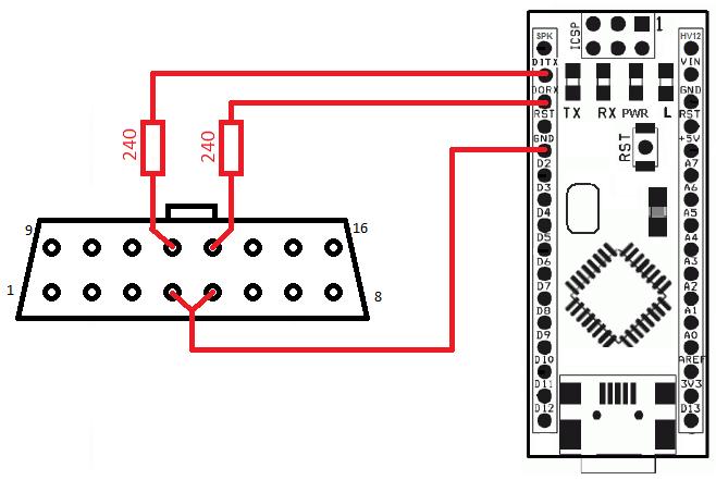 Subaru и Arduino: протокол SSM1. Рукопожатие
