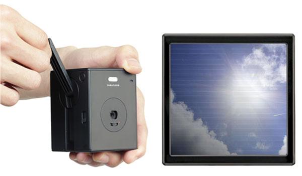 Sun and Cloud — цифровая фотокамера, которой не нужен внешний зарядник