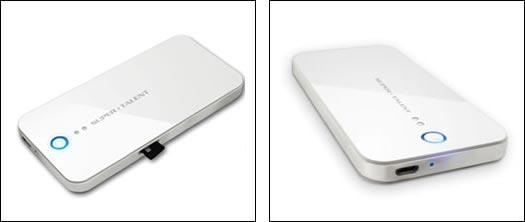 Super Talent Wi-Cap — флэш-накопитель, обеспечивающий совместный доступ к файлам по беспроводному подключению