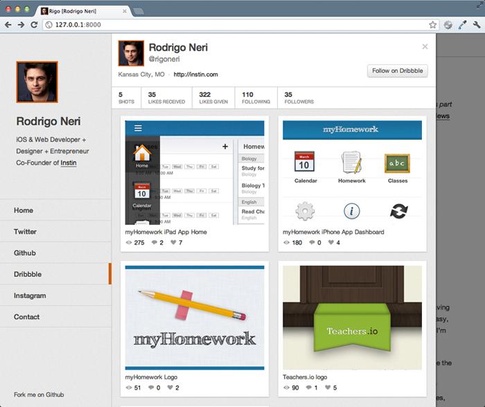 Syte — движок для персональных сайтов с возможностью интеграции соц.сервисов