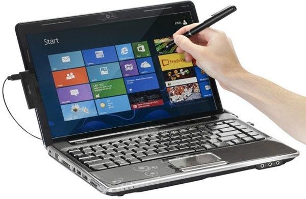 Targus Touch Pen добавляет в обычный ноутбук с Windows 8 возможность сенсорного ввода