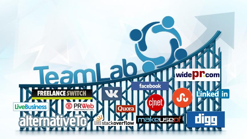 TeamLab: прогулка по каналам продвижения или как мы создавали social buzzz