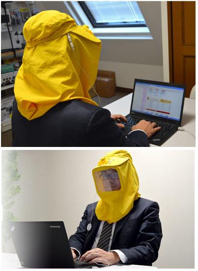 Изделие Thanko USB Pollen Mask призвано защищать пользователя от воздействия пыльцы и других мелких частиц