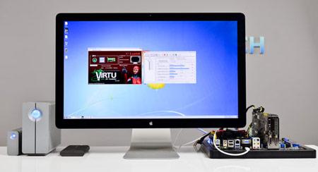 Thunderbolt в системах с Windows пока не поддерживает «горячее» подключение
