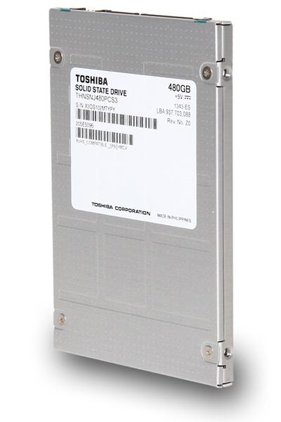 В серию Toshiba HK3R вошли твердотельные накопители с интерфейсом SATA