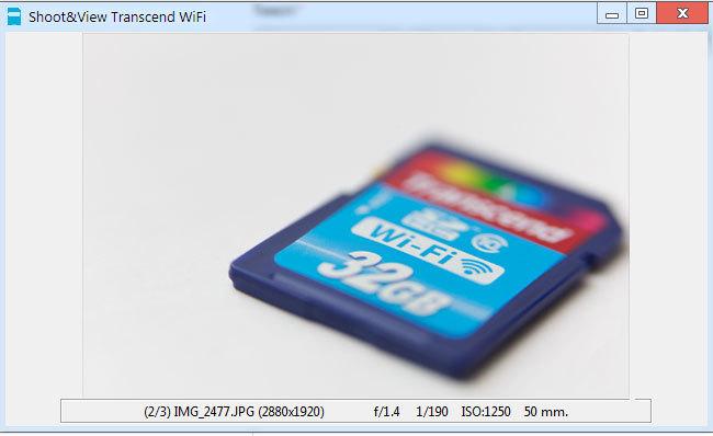 Transcend WiFi. Пишем клиент Shoot&View для Windows, Mac и Linux