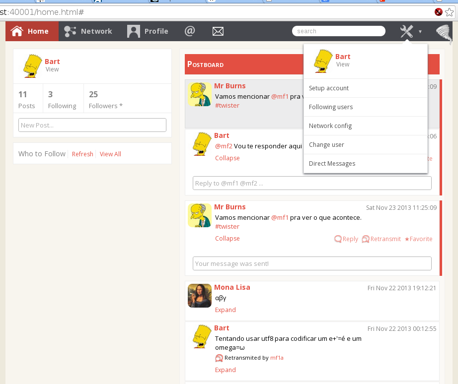 Twister: Децентрализованный, P2P аналог Twittera