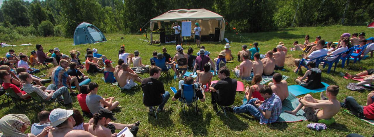UNIGINE Open Air 2013. Фотоотчет