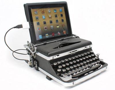 USB клавиатура из старой печатной машинки